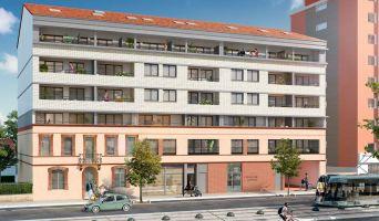 Toulouse : programme immobilier neuf « Couleur Garonne » en Loi Pinel