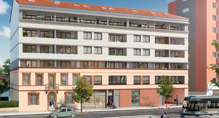 Résidence « Couleur Garonne » programme immobilier neuf en Loi Pinel à Toulouse n°1