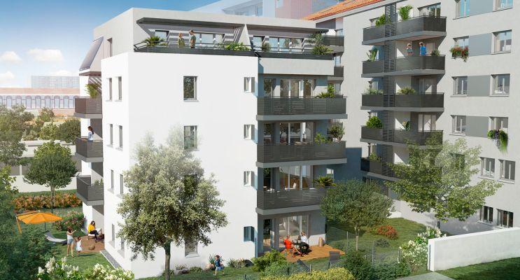 Résidence « Couleur Garonne » programme immobilier neuf en Loi Pinel à Toulouse n°2
