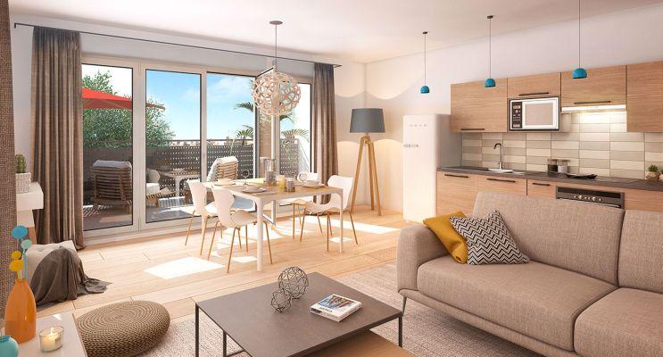 Résidence « Couleur Garonne » programme immobilier neuf en Loi Pinel à Toulouse n°3