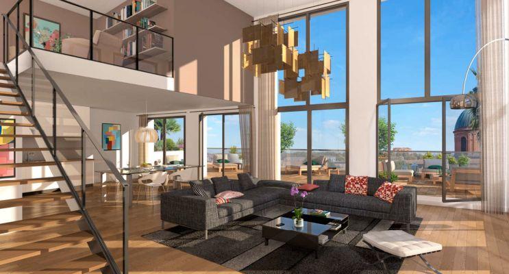 Résidence « Cour Du Dôme » programme immobilier neuf en Loi Pinel à Toulouse n°4