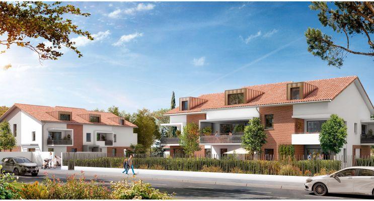 Résidence « Cours Adrienne » programme immobilier neuf en Loi Pinel à Toulouse n°2