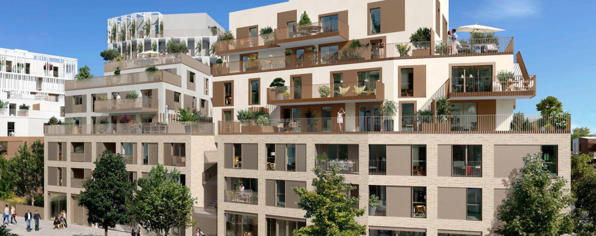 Toulouse : programme immobilier neuve « Cyméa 2 » en Loi Pinel