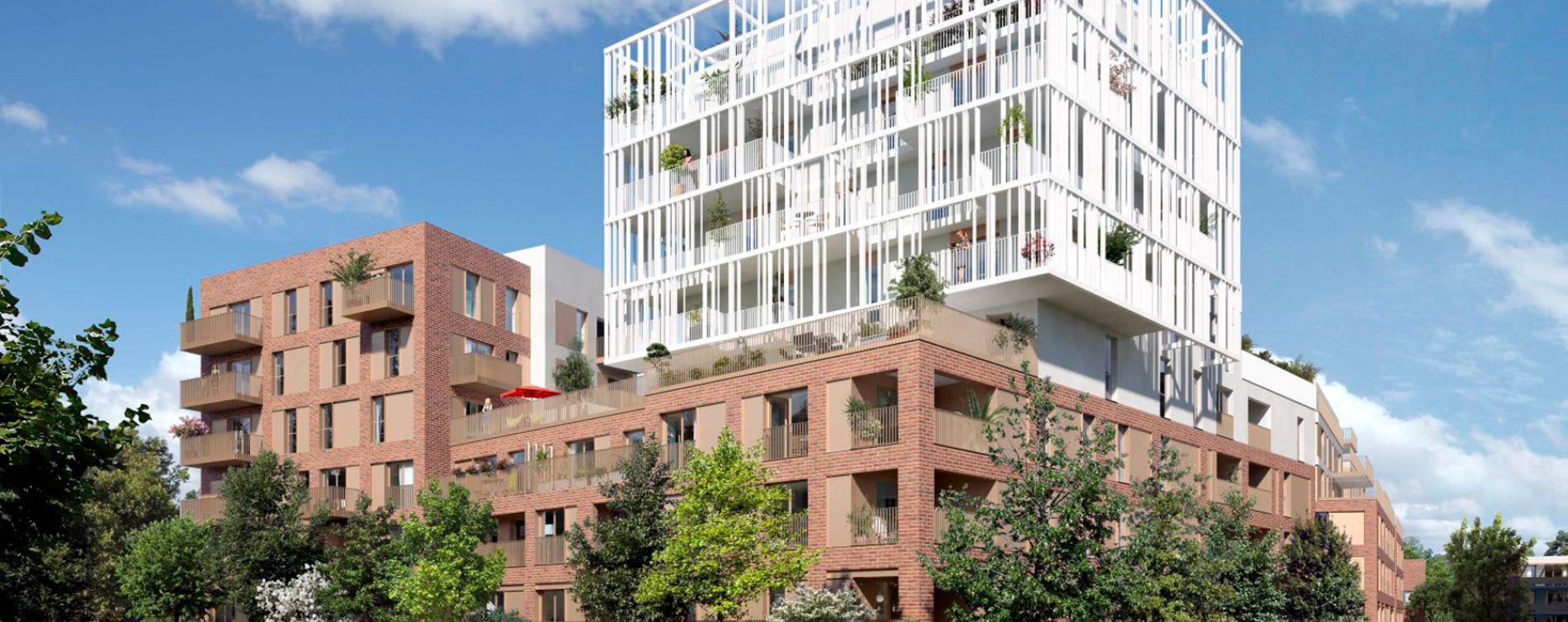Toulouse : programme immobilier neuve « Cyméa 2 » en Loi Pinel (2)