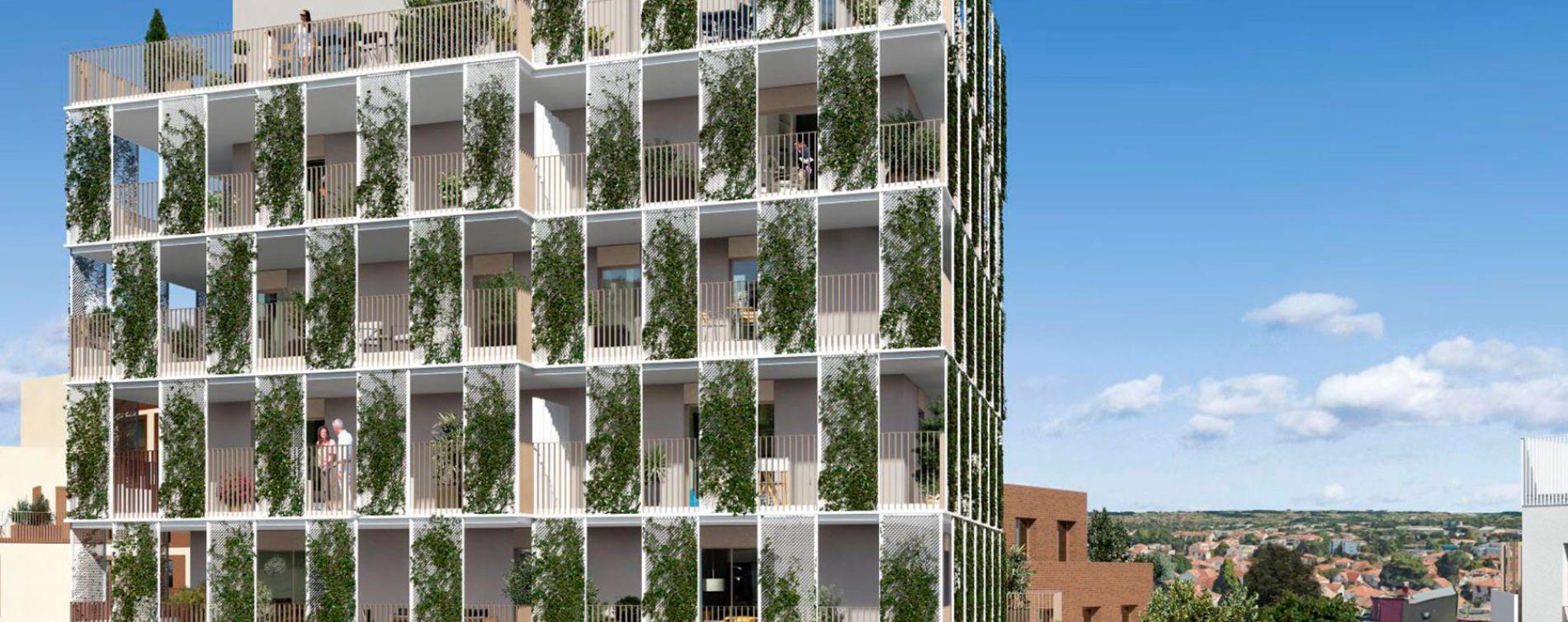 Toulouse : programme immobilier neuve « Cyméa 2 » en Loi Pinel (3)