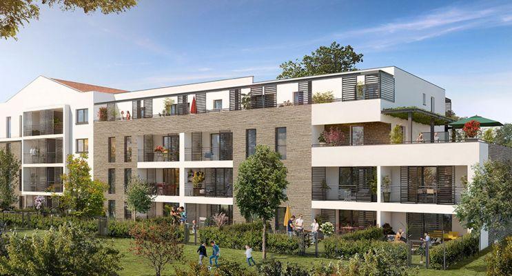Résidence « E-Maj - Tr. 2 » programme immobilier neuf en Loi Pinel à Toulouse n°2