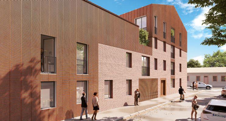 Toulouse : programme immobilier neuf « Ecrin des Minimes » en Loi Pinel