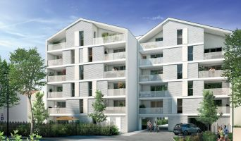 Résidence « Eden Square » programme immobilier neuf en Loi Pinel à Toulouse