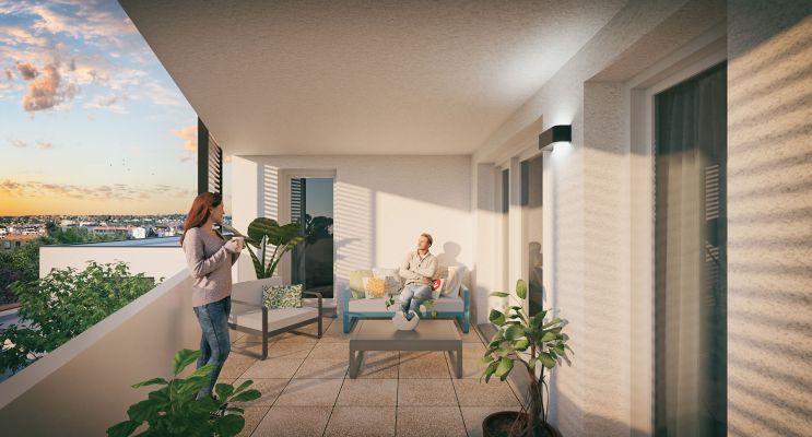 Photo n°3 du Résidence « Fancy » programme immobilier neuf en Loi Pinel à Toulouse