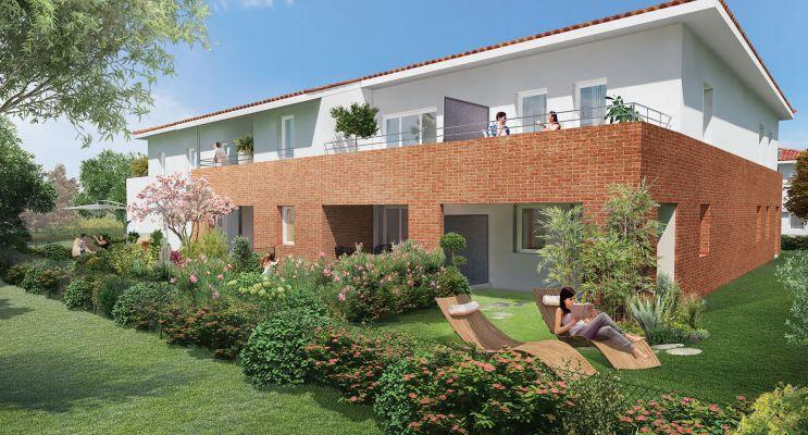 Photo n°1 du Résidence « Floricia » programme immobilier neuf en Loi Pinel à Toulouse