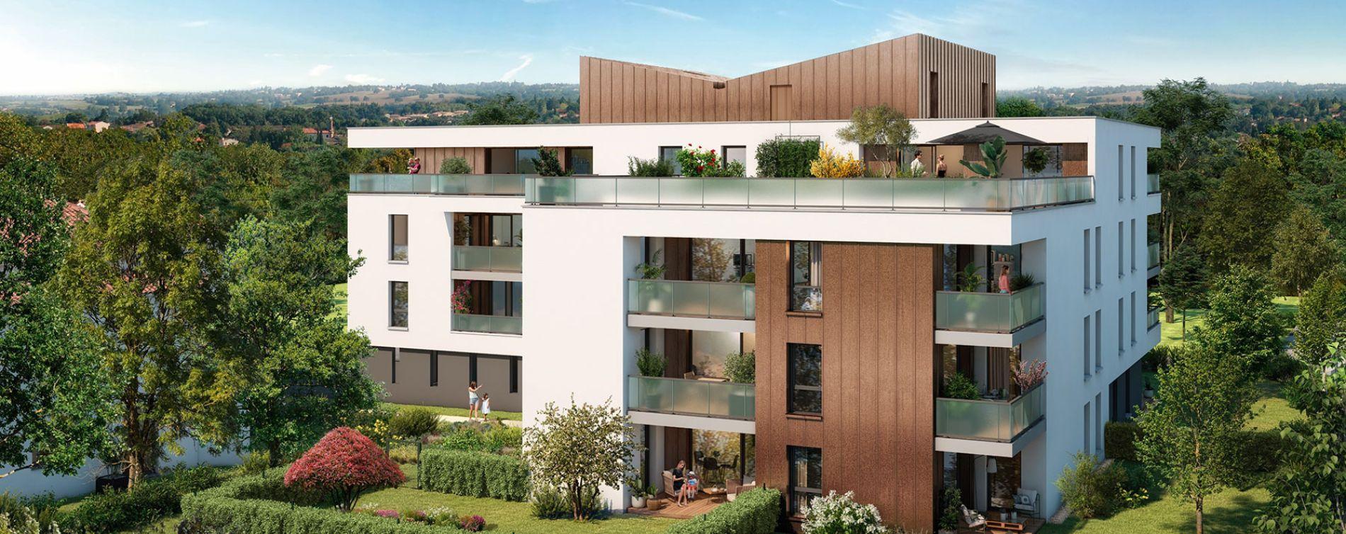 Toulouse : programme immobilier neuve « Grand Horizon » en Loi Pinel