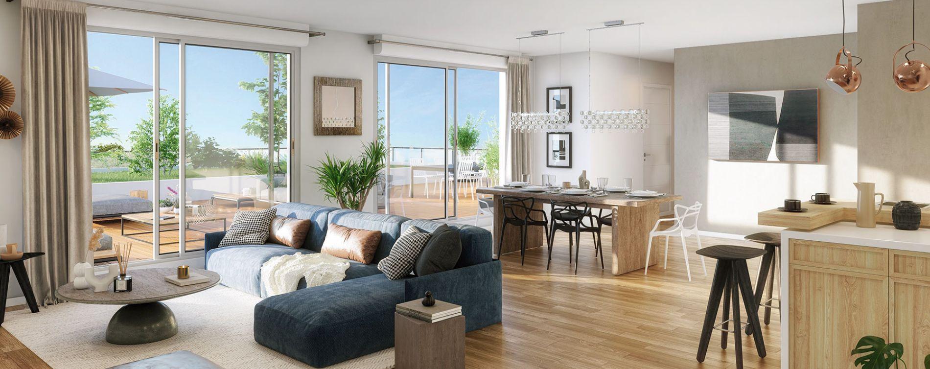 Toulouse : programme immobilier neuve « Grand Horizon » en Loi Pinel (3)