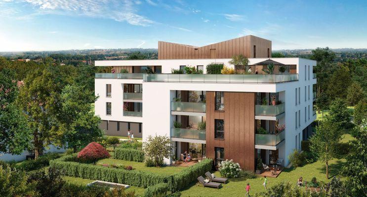 Toulouse : programme immobilier neuf « Grand Horizon » en Loi Pinel