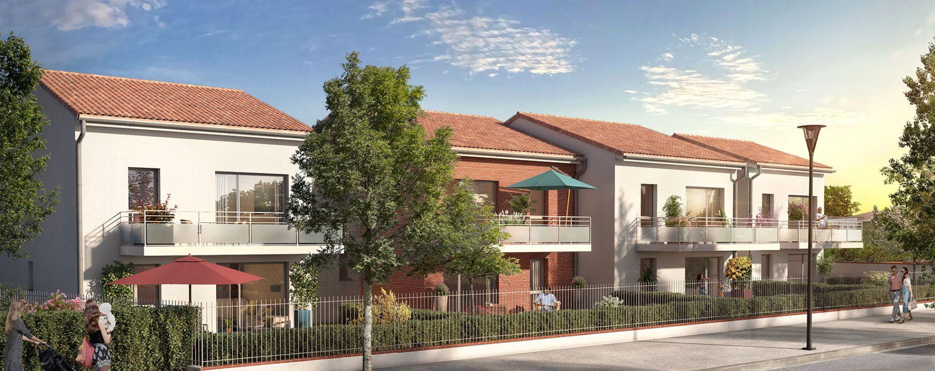 Toulouse : programme immobilier neuve « Hameau Dhuoda »