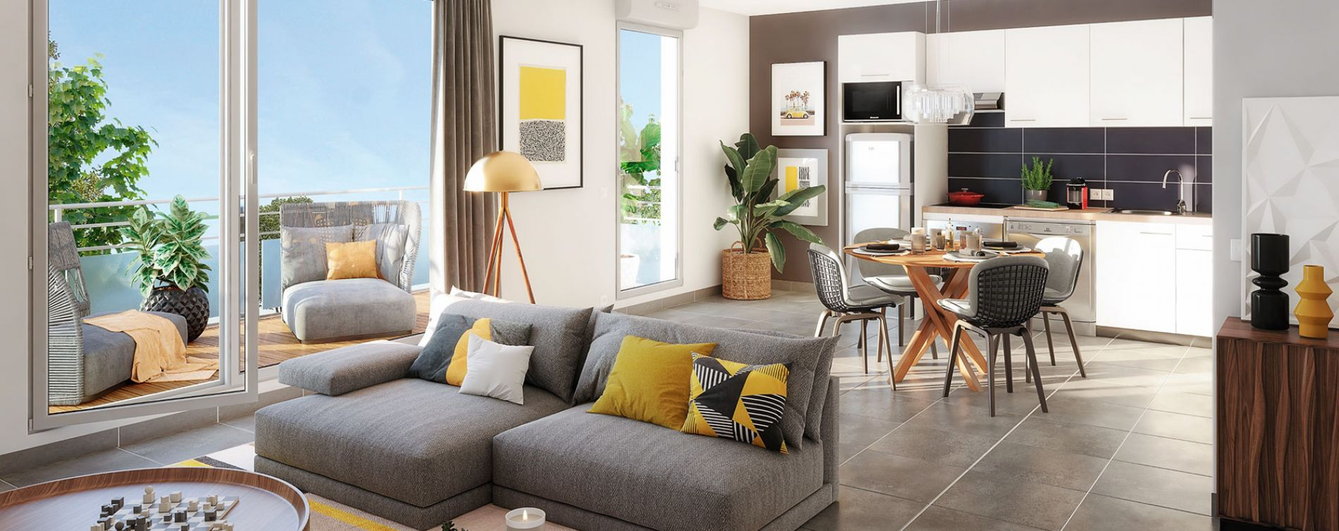 Toulouse : programme immobilier neuve « Hameau Dhuoda » (3)