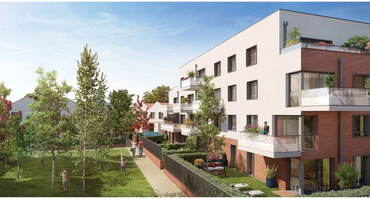 Photo du Résidence « Héritage » programme immobilier neuf en Loi Pinel à Toulouse