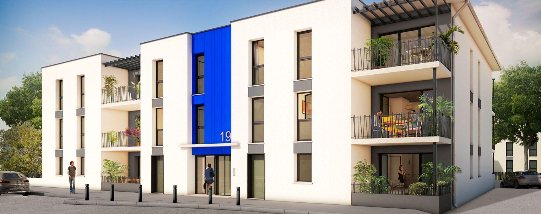 Toulouse programme immobilier neuve « Ikabé »