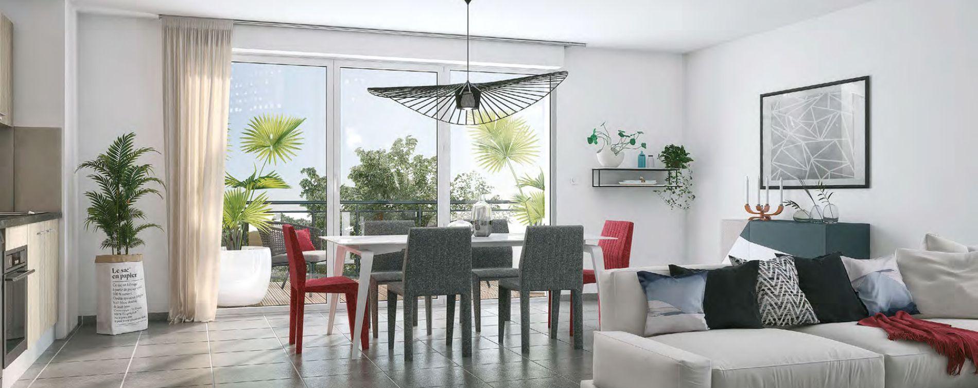 Toulouse programme immobilier neuve « Ikabé »  (3)