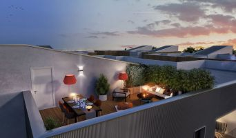 Toulouse : programme immobilier neuf « Infinity 2 » en Loi Pinel