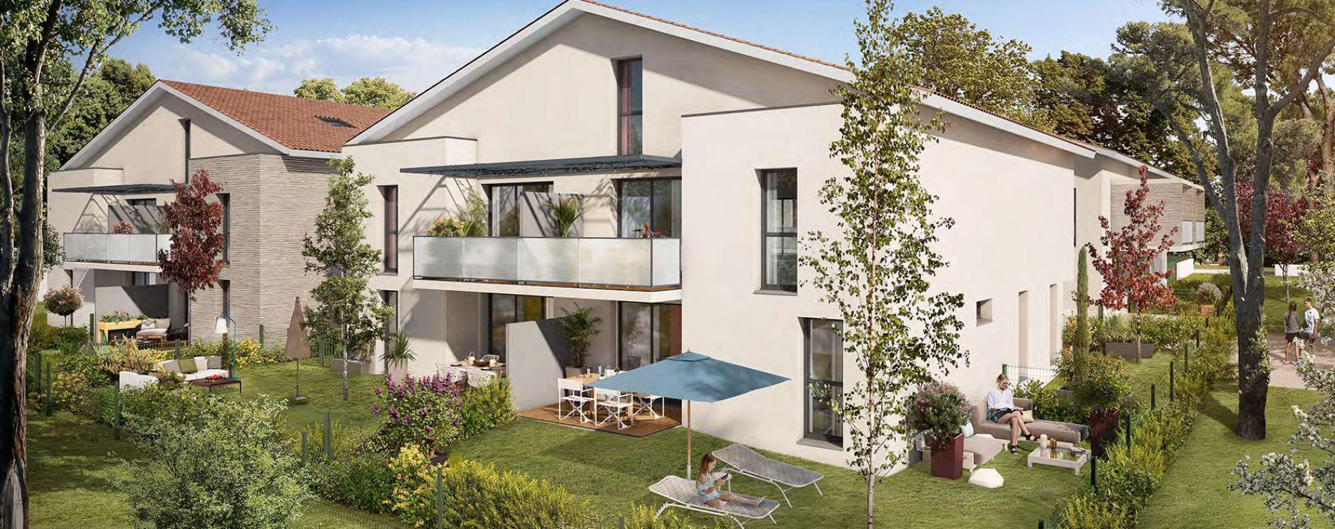 Toulouse : programme immobilier neuve « In'Lardenne » en Loi Pinel