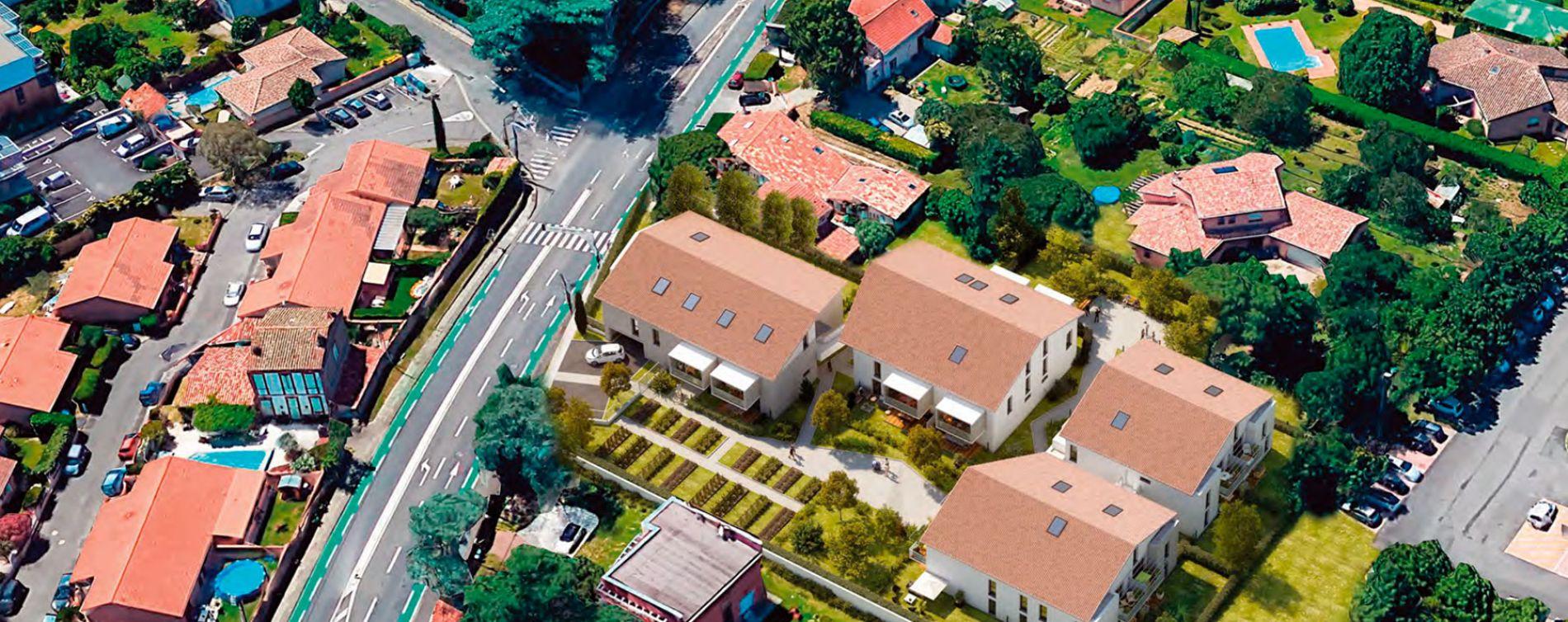 Toulouse : programme immobilier neuve « In'Lardenne » en Loi Pinel (4)