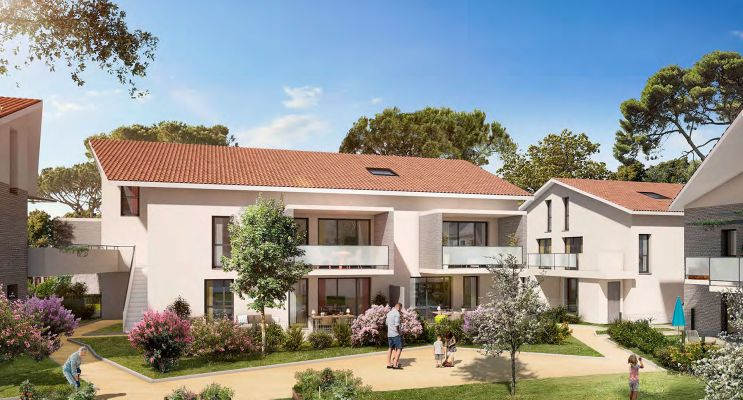 Résidence « In'Lardenne » programme immobilier neuf en Loi Pinel à Toulouse n°2