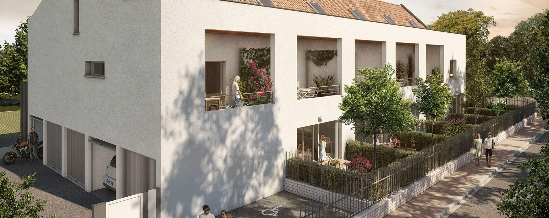 Toulouse : programme immobilier neuve « Inside Park » en Loi Pinel