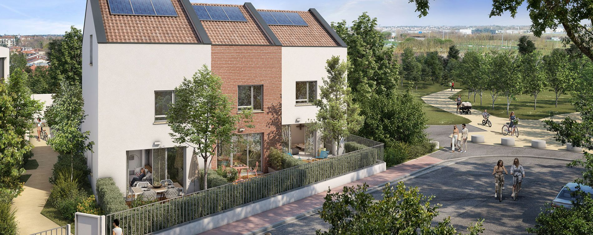 Toulouse : programme immobilier neuve « Inside Park » en Loi Pinel (2)