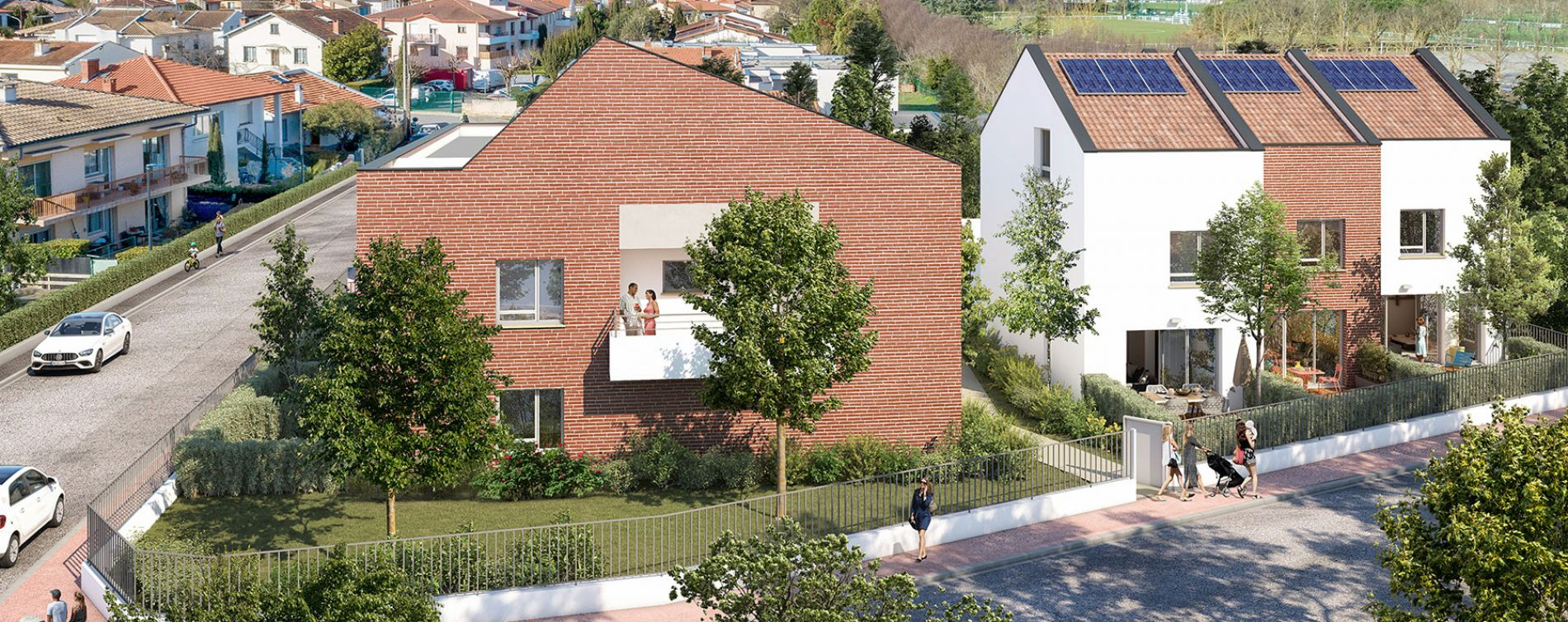 Toulouse : programme immobilier neuve « Inside Park » en Loi Pinel (3)