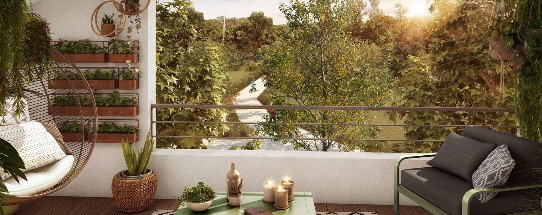 Toulouse : programme immobilier neuve « Inside Park » en Loi Pinel (4)