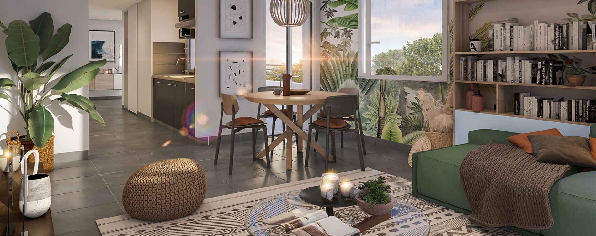 Toulouse : programme immobilier neuve « Inside Park » en Loi Pinel (5)