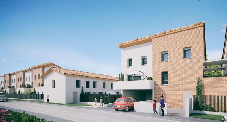 Photo du Résidence « Intiméo 2 » programme immobilier neuf en Loi Pinel à Toulouse