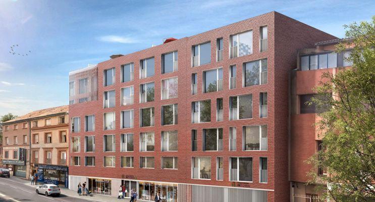 Photo n°1 du Résidence « Intown 2 » programme immobilier neuf en Loi Pinel à Toulouse
