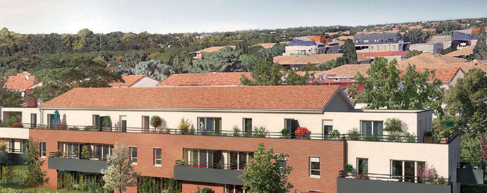 Toulouse : programme immobilier neuve « Joia » en Loi Pinel