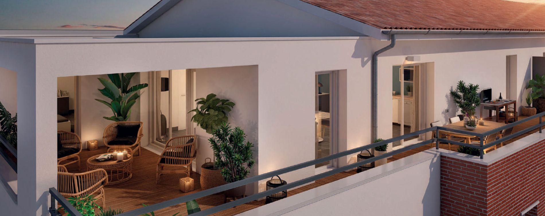 Toulouse : programme immobilier neuve « Joia » en Loi Pinel (2)