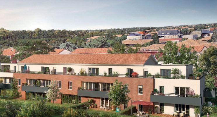 Toulouse : programme immobilier neuf « Joia » en Loi Pinel