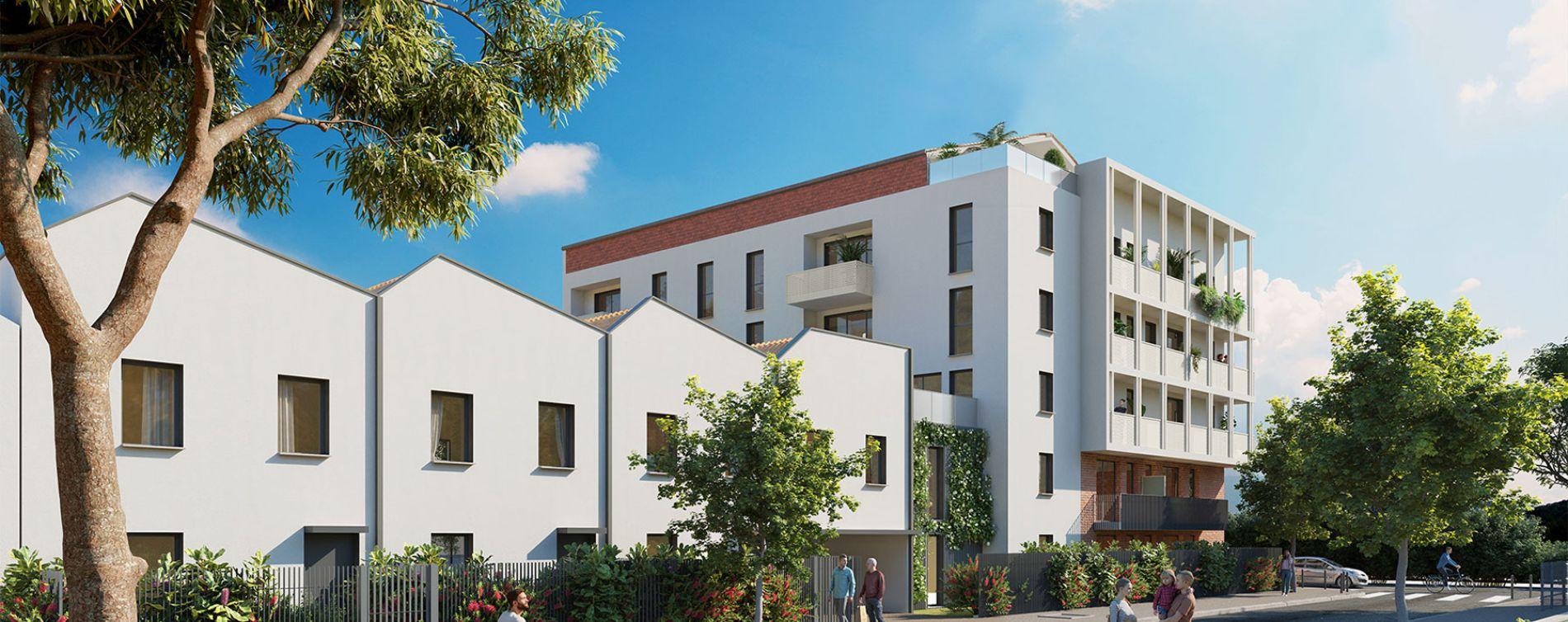 Toulouse : programme immobilier neuve « La Cavalière » en Loi Pinel