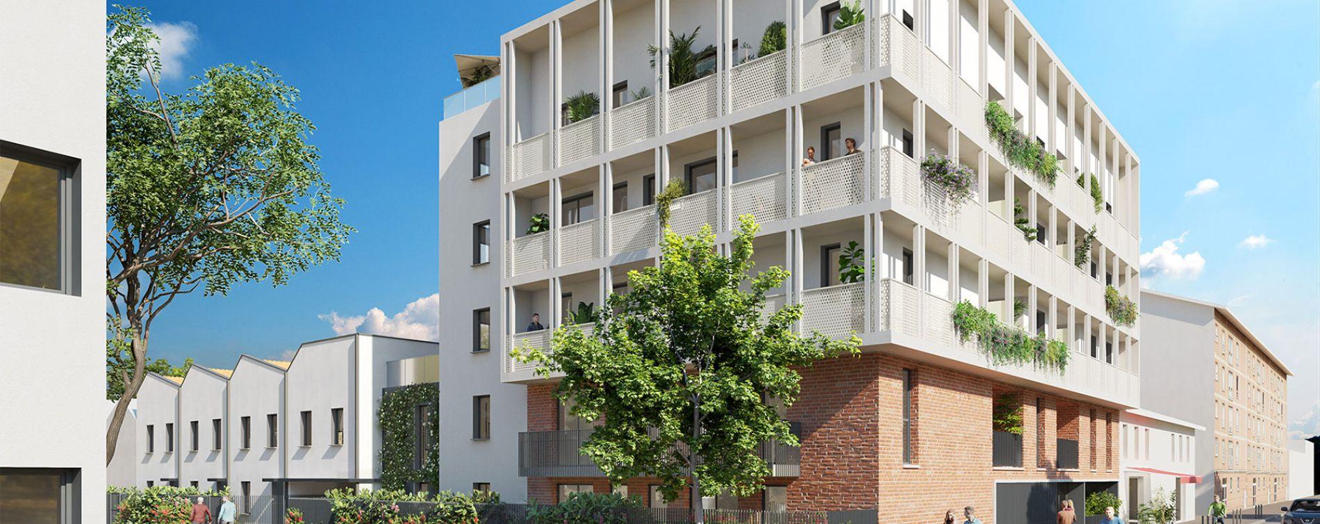 Toulouse : programme immobilier neuve « La Cavalière » en Loi Pinel (3)