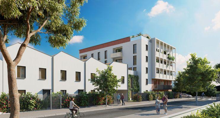 Toulouse : programme immobilier neuf « La Cavalière » en Loi Pinel