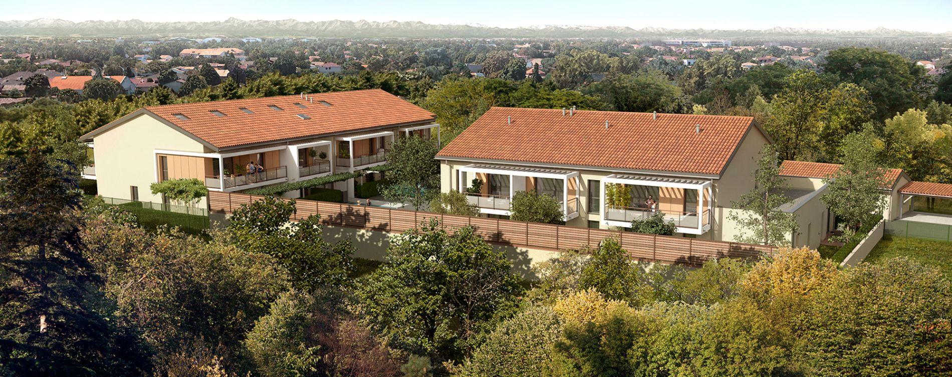 Toulouse : programme immobilier neuve « La Mauvaise Herbe » (3)