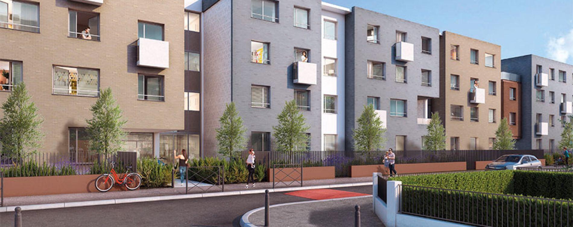 Toulouse : programme immobilier neuve « L'Alexandrin » (3)
