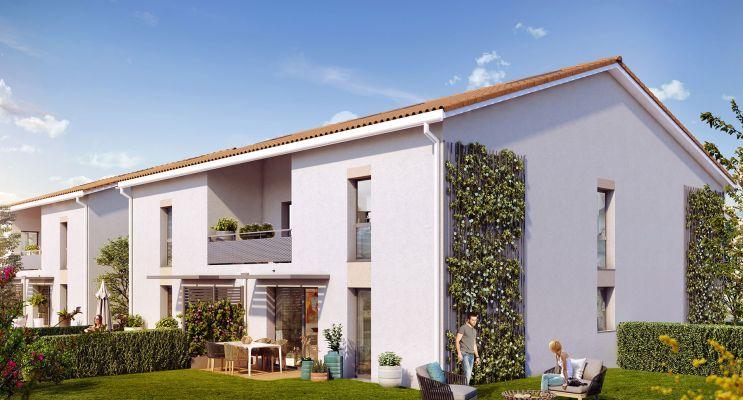 Résidence « L'Aloe Tolosa » programme immobilier neuf en Loi Pinel à Toulouse n°1