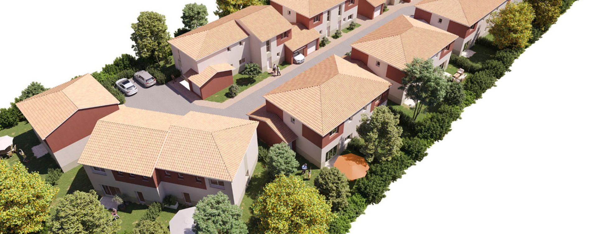 Toulouse : programme immobilier neuve « Le Clos Lacrotzorado » (2)