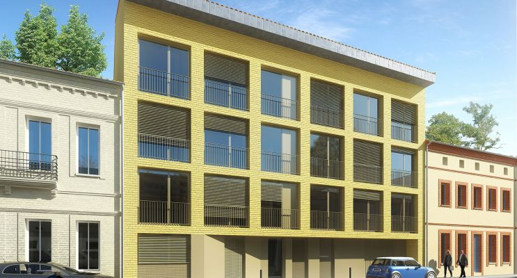 Toulouse : programme immobilier neuf « Le Constant » en Loi Pinel