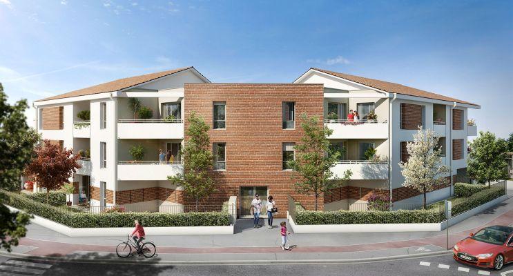 Photo du Résidence « Le Cygne d'Argent » programme immobilier neuf en Loi Pinel à Toulouse