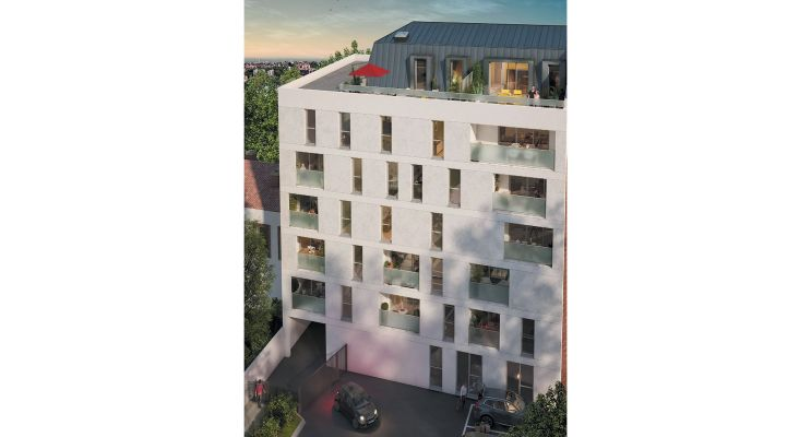 Résidence « Le Jules » programme immobilier neuf en Loi Pinel à Toulouse n°2