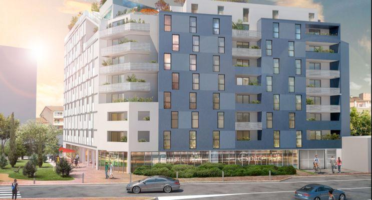 Résidence « Le Kub » programme immobilier neuf en Loi Pinel à Toulouse n°1