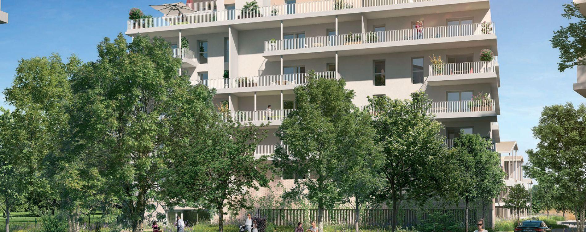 Toulouse : programme immobilier neuve « Le Parc du Faubourg » en Loi Pinel
