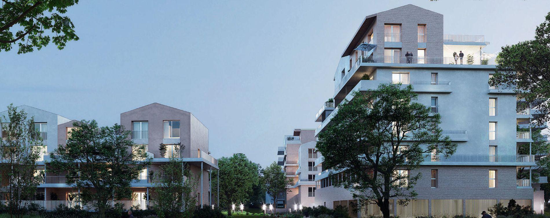Toulouse : programme immobilier neuve « Le Parc du Faubourg » en Loi Pinel (2)