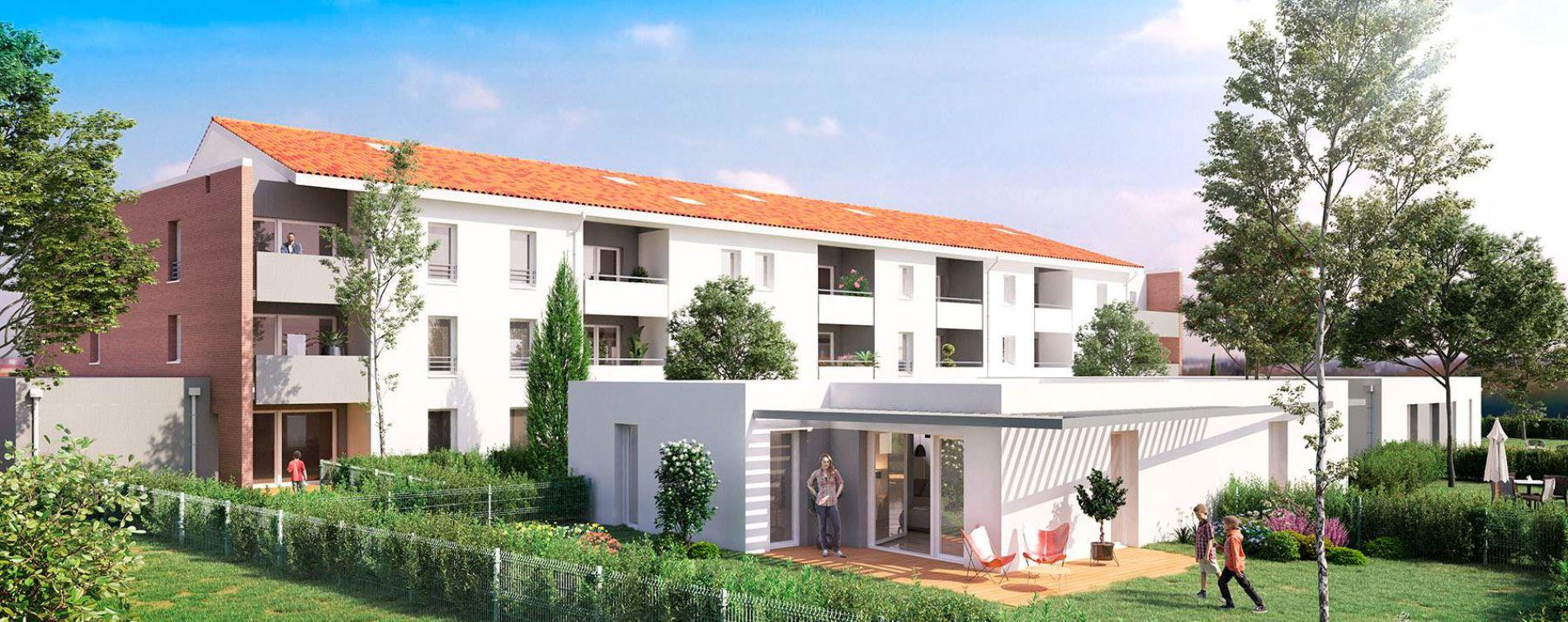 Toulouse : programme immobilier neuve « Le Patio de Carmel »